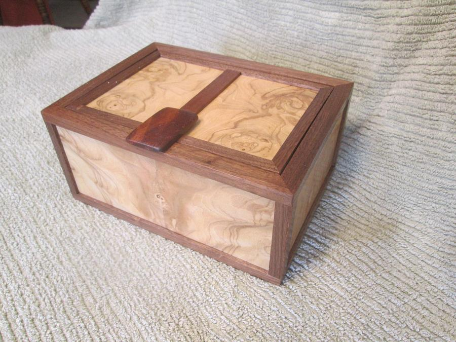 """""""Anything"""" Box - Woodworking Project by jbschutz"""