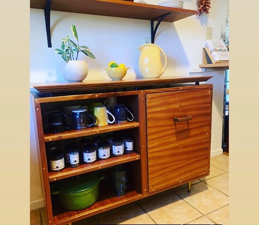 Mid century kitchen storage - Woodworking Project by GWC