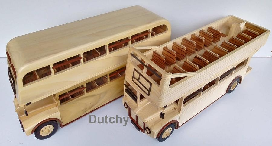 Routemaster Classic London bus - Woodworking Project by Dutchy