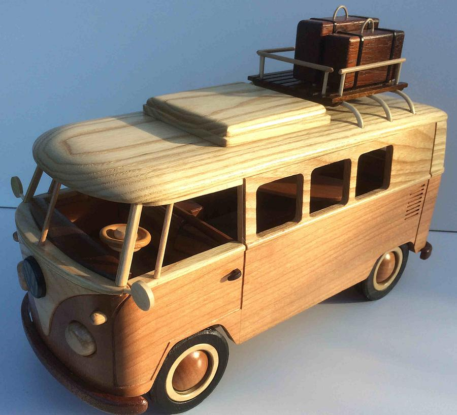 VW Campervan - Woodworking Project by Dutchy