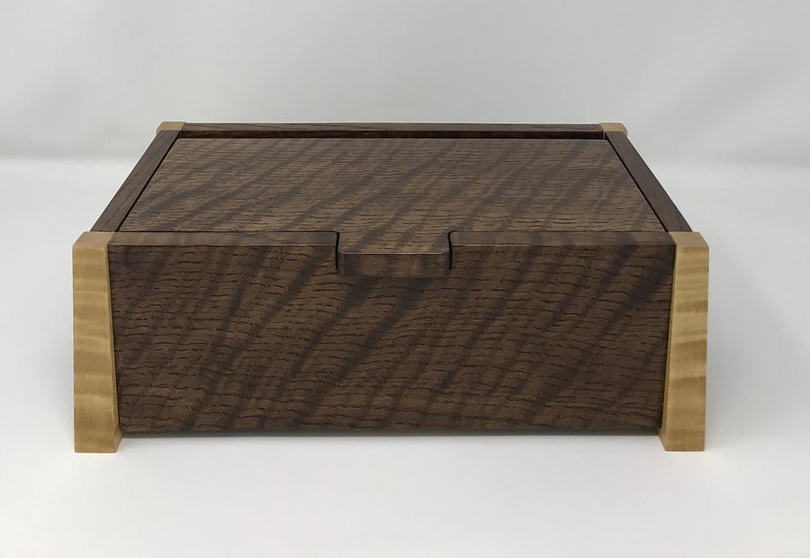 Curly Keepsake Box - Woodworking Project by kdc68