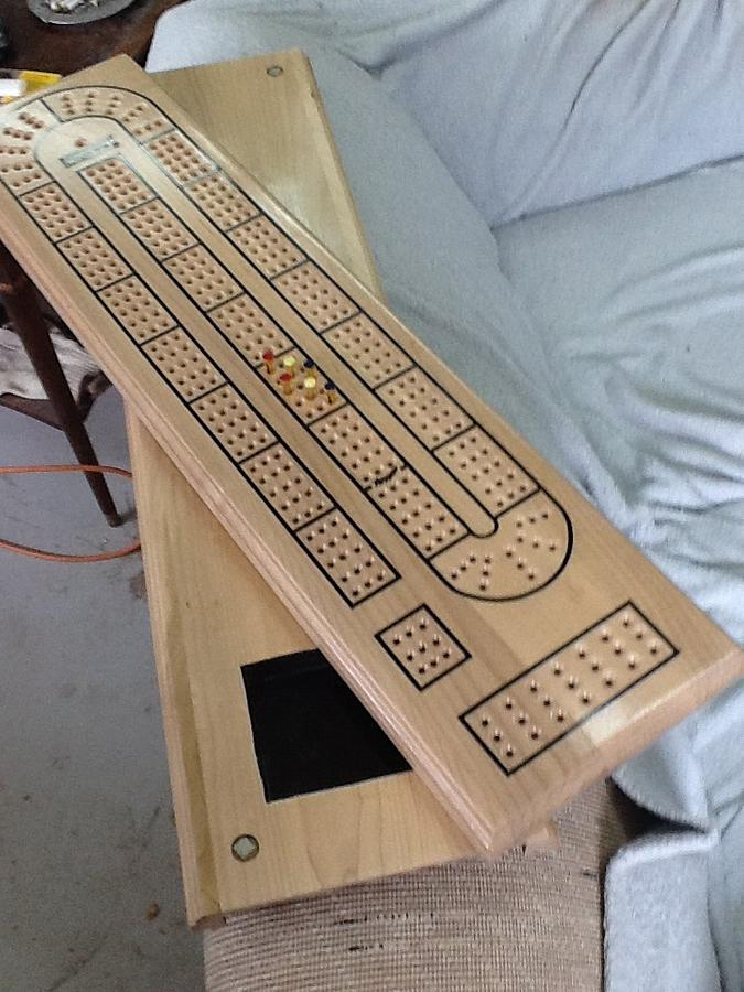 Cribbage board - Woodworking Project by Thorreain