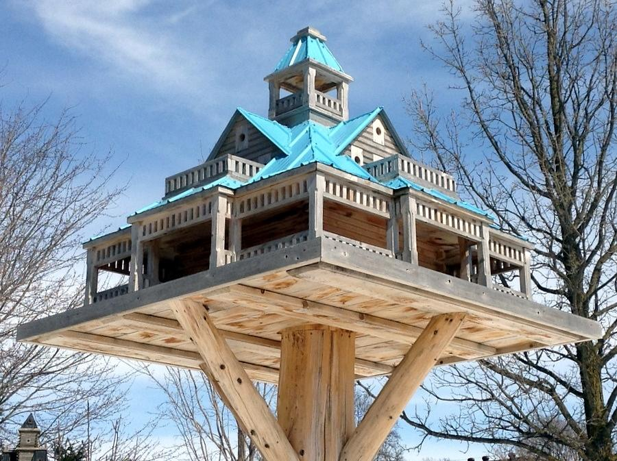 Extreme Birdhouses - Woodworking Project by John L