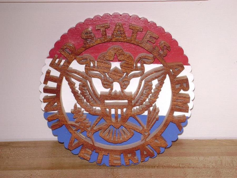 Military Plaques - Woodworking Project by David Roberts