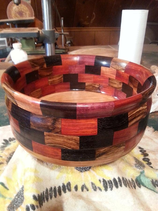 Chaotic Bowl - Woodworking Project by Will