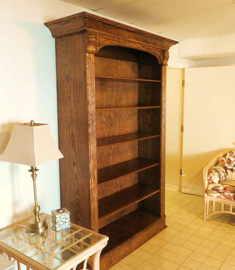 Sassafras Book Case - Woodworking Project by oldrivers