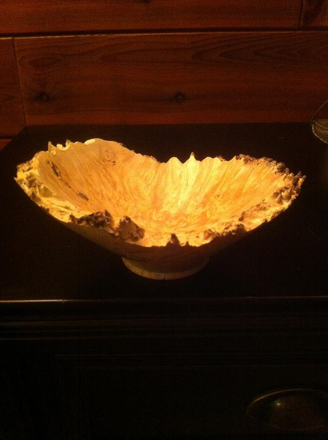Natural edge birch bowl - Woodworking Project by Timber