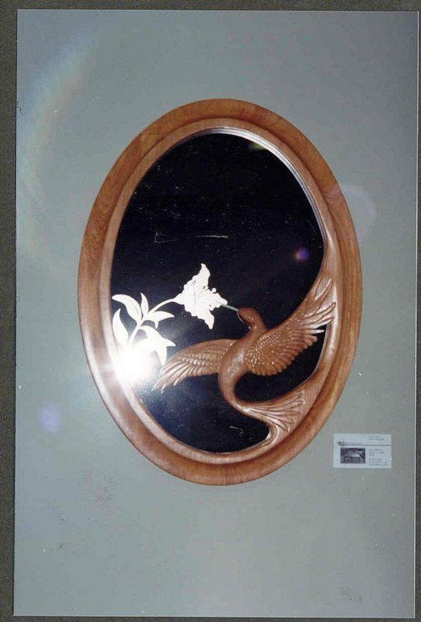 Hummingbird mirror - Woodworking Project by WestCoast Arts