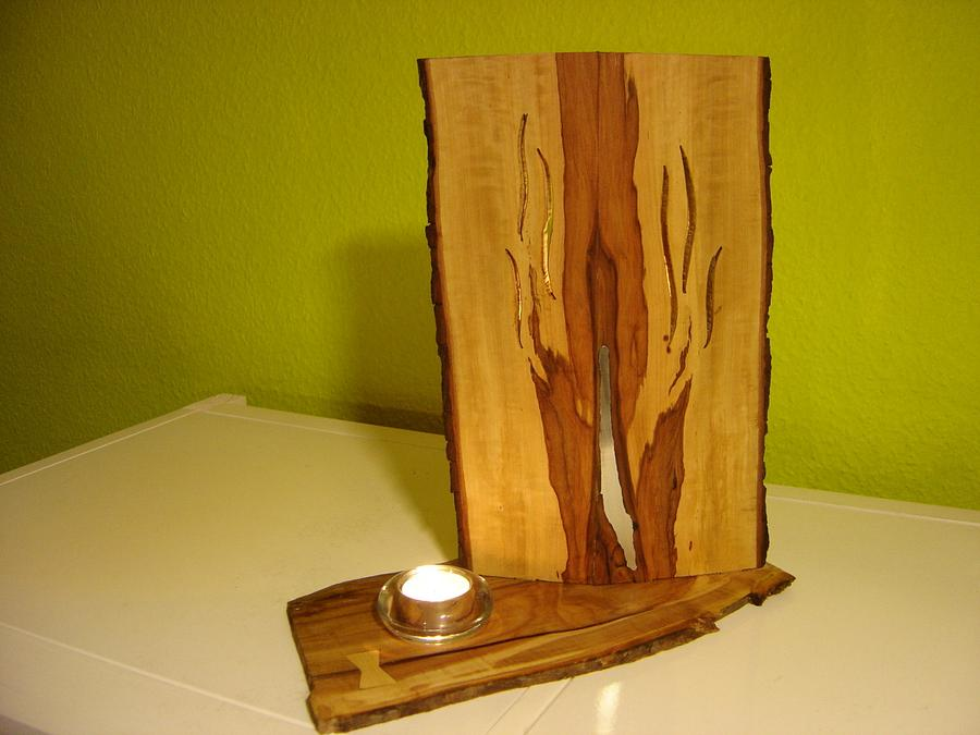 candle holder - Woodworking Project by Uwe Salzmann