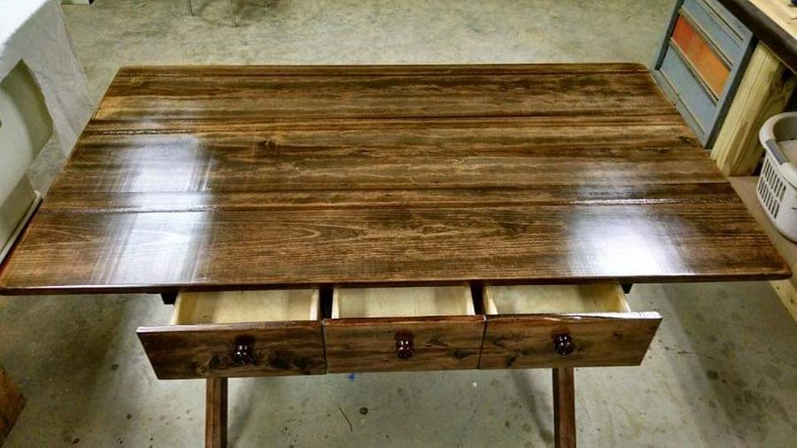 Trestle Table - Woodworking Project by BWD