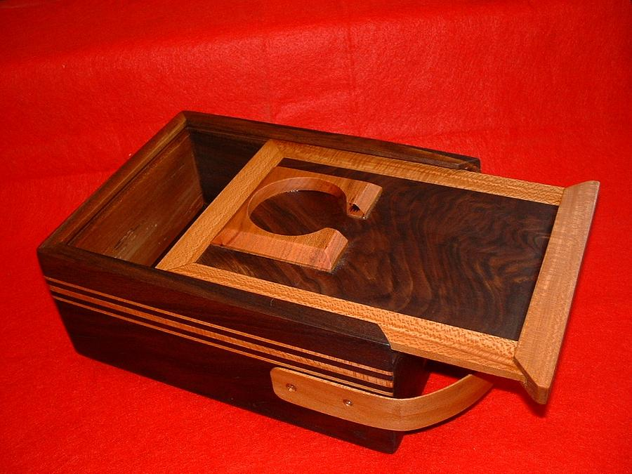 shoe shine box - Woodworking Project by grizzman