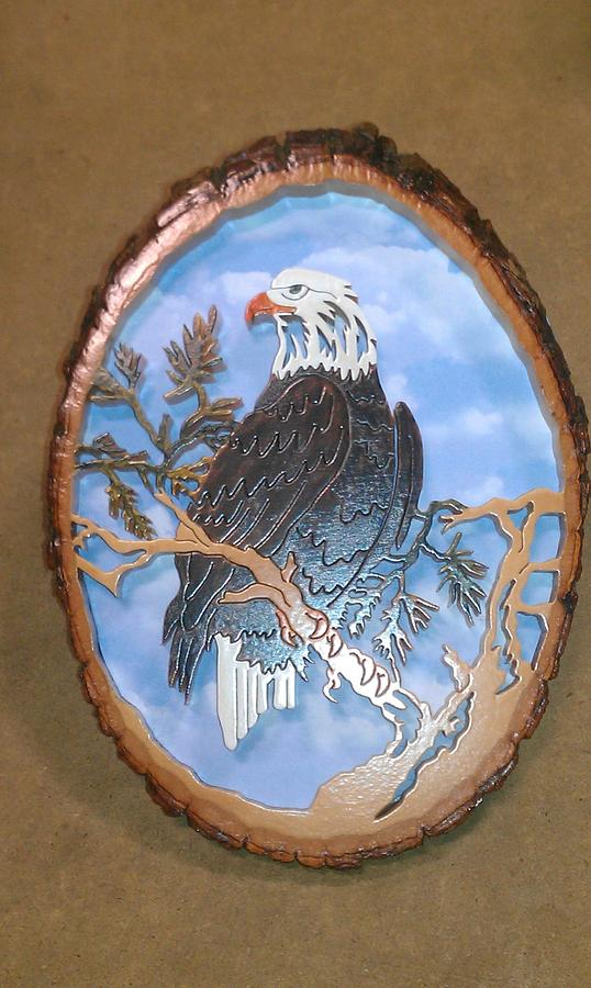 Bald Eagle - Woodworking Project by SYPUCK