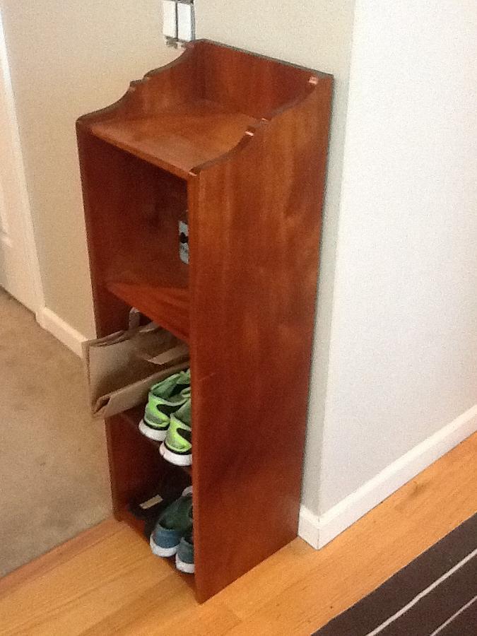Shoe Rack - Woodworking Project by 3fingerpat
