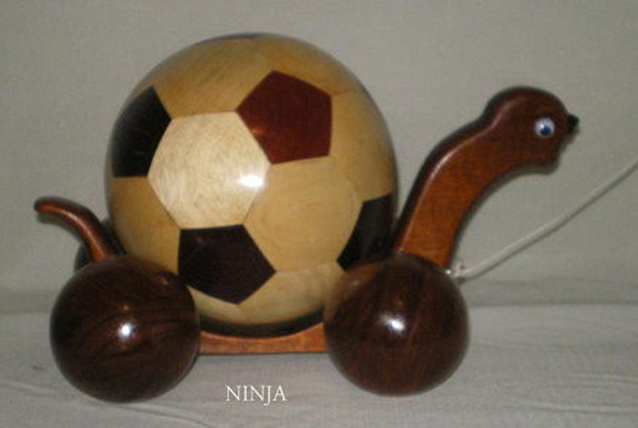 NINJA THE TURTLE  - Woodworking Project by Sam Shakouri