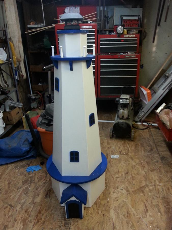 light house - Woodworking Project by allen newman