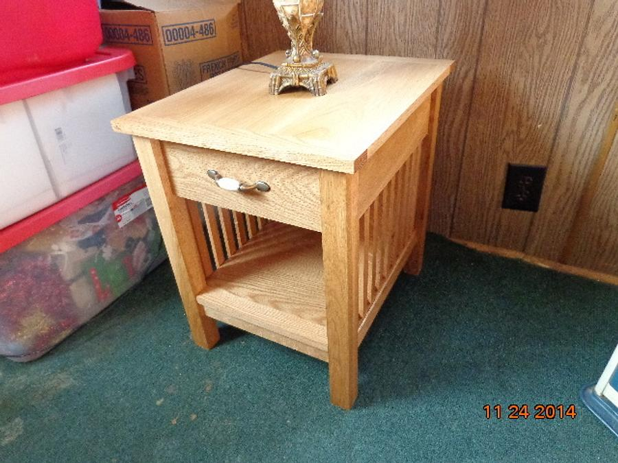 End table - Woodworking Project by MontyJ
