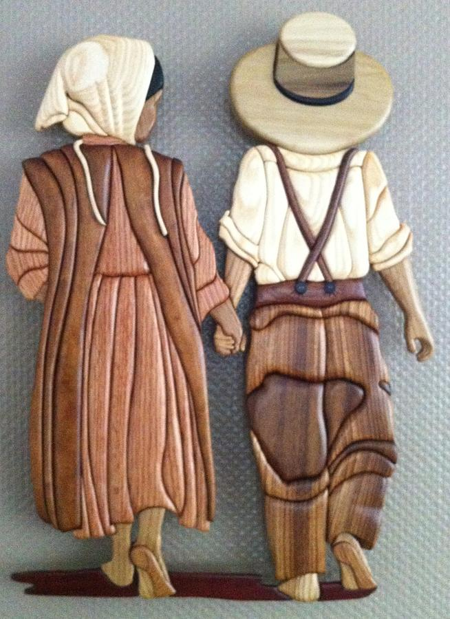 Amish intarsia - Woodworking Project by Dutchy