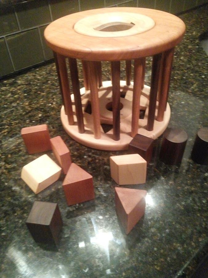 Child Shape Carrosel  - Woodworking Project by Peepaw