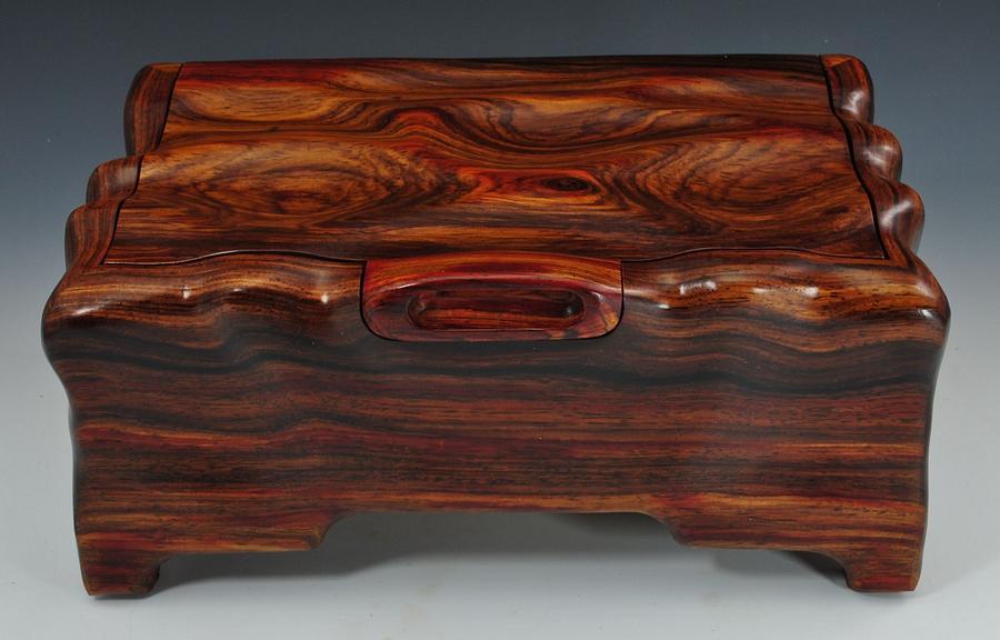 Cocobolo Keepsake Treasure Box - Woodworking Project by Greg
