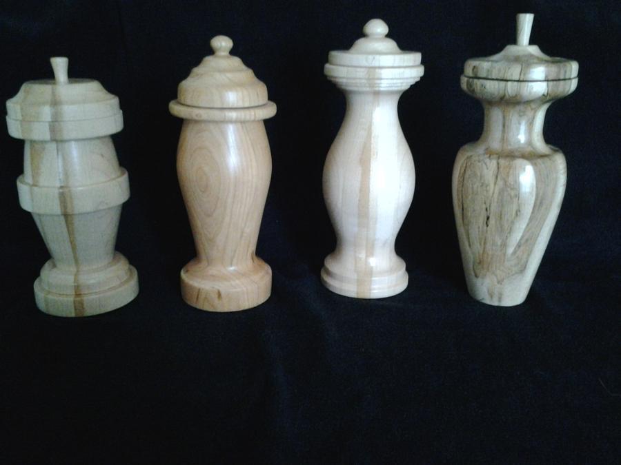 Vase Urns - Woodworking Project by Jeff Vandenberg