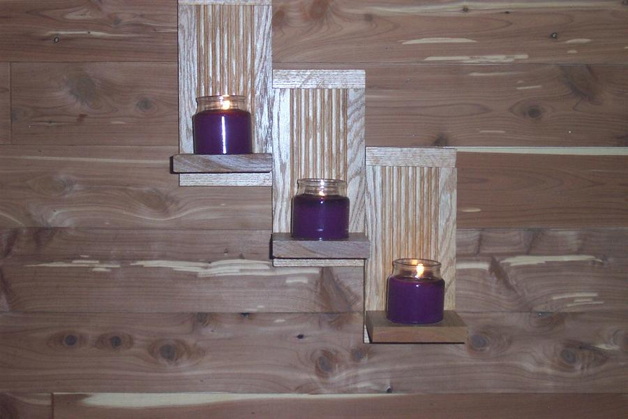 Hot Tub Room Sconces  - Woodworking Project by Wheaties  -  Bruce A Wheatcroft   ( BAW Woodworking)