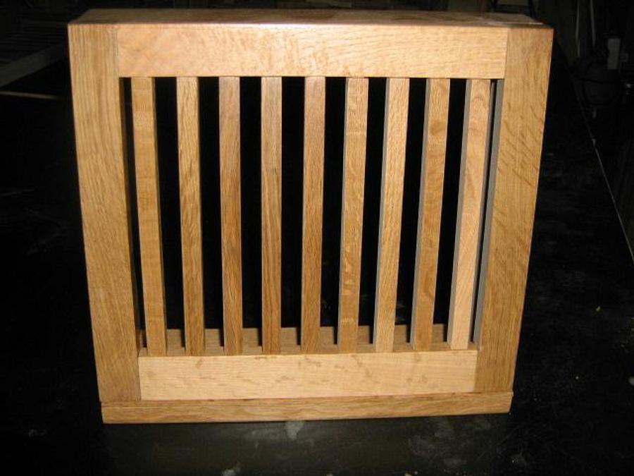 HEAT REGISTER IN 1/4 SAWN WHITE OAK - Woodworking Project by a1jim