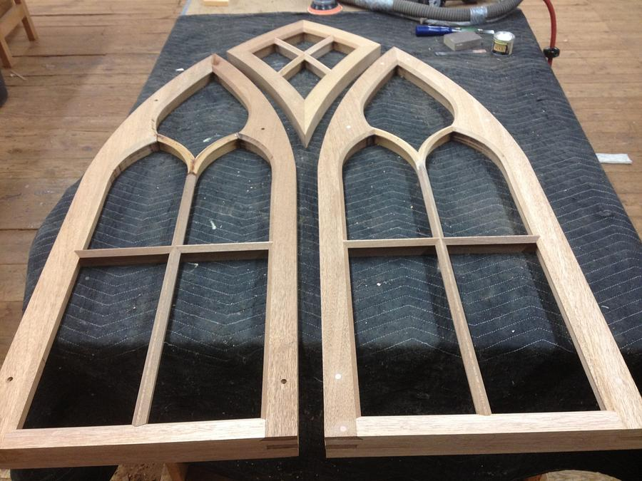Gothic style sash with Kite sash - Woodworking Project by David A Sylvester