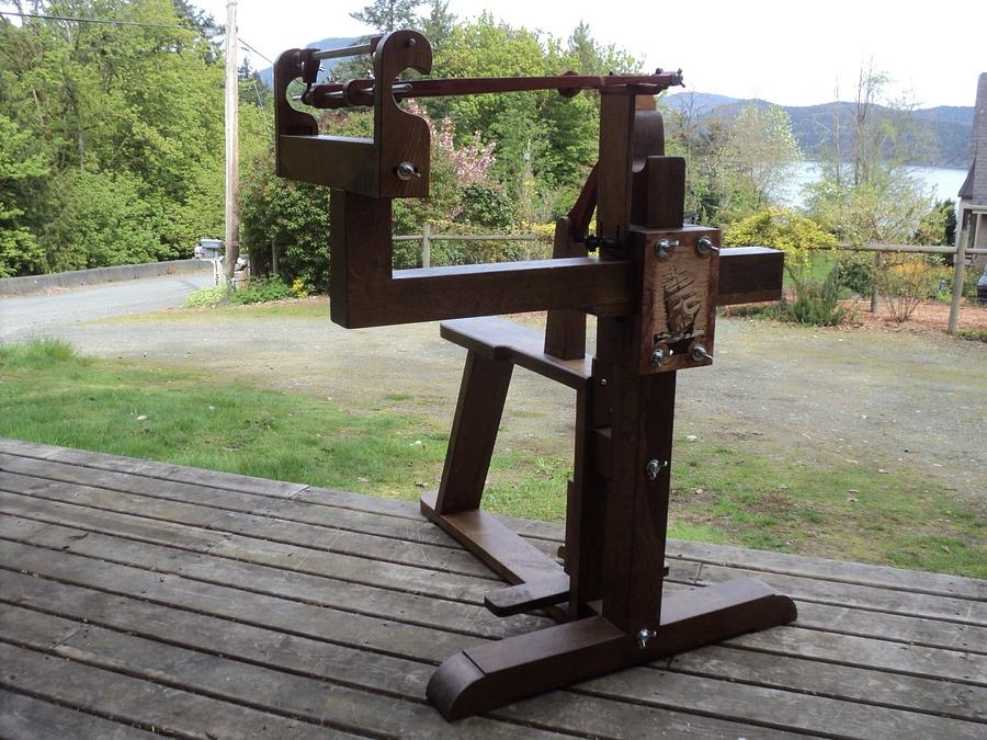 My Chevalets - Woodworking Project by shipwright