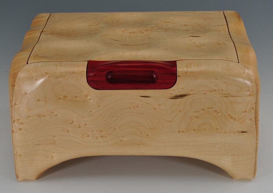 Birds Eye Maple Box - Woodworking Project by Greg