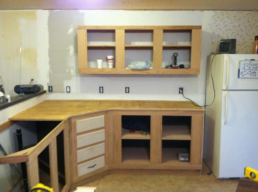 1st Cabinets - Woodworking Project by Woody34