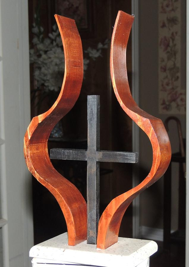 Embrace ...   finished today. - Woodworking Project by Rolando Pupo