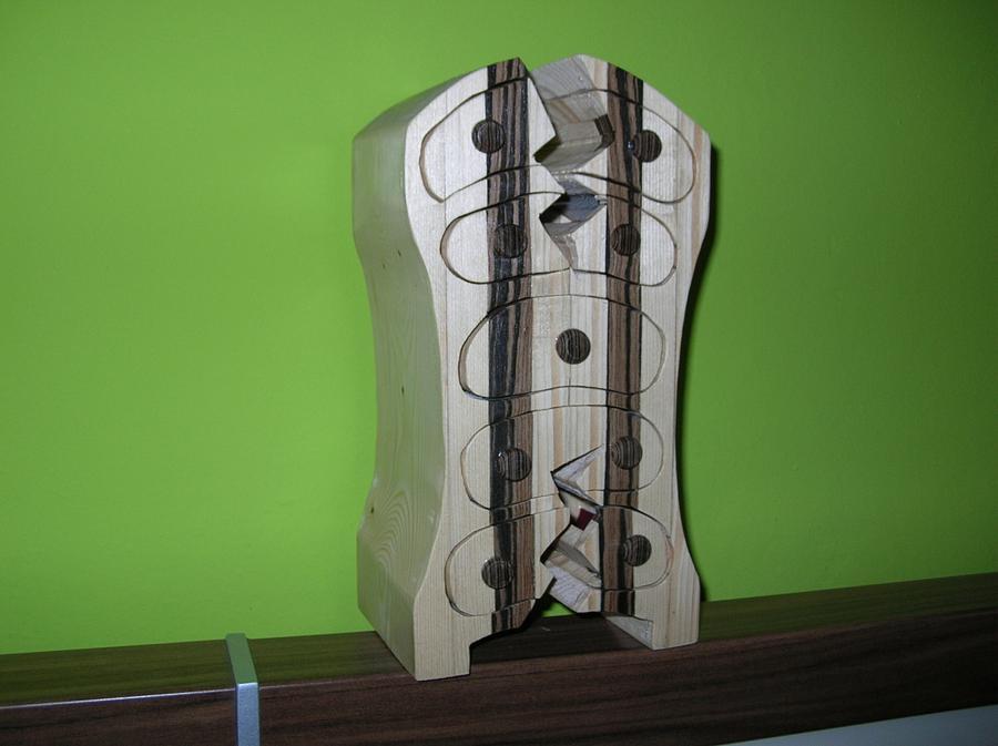 Double cracked bandsawbox - Woodworking Project by Hoizbastla