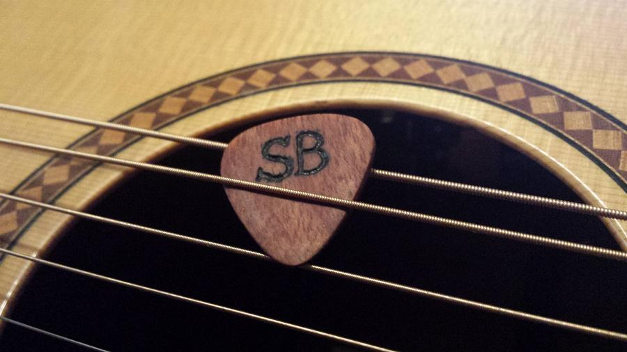 Wooden Guitar Picks - Woodworking Project by Mitch Breault