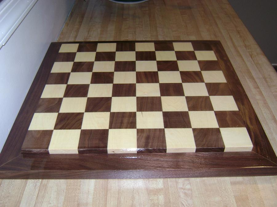 Chess Board - Woodworking Project by David Roberts