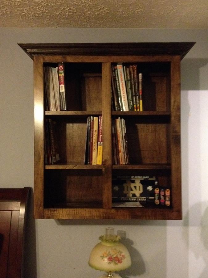 Bookshelf - Woodworking Project by Dusty1