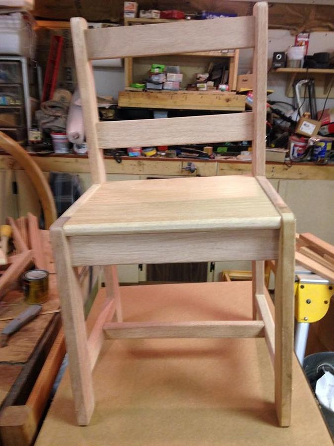 Kiddie Chairs - Woodworking Project by David A Sylvester