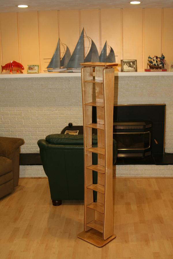 DVD Holder - Woodworking Project by MJCD
