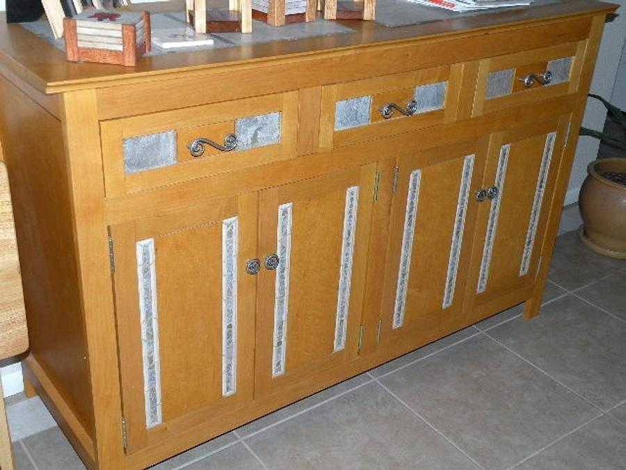 Mosaic Maple Sideboard - Woodworking Project by Angela Maddock