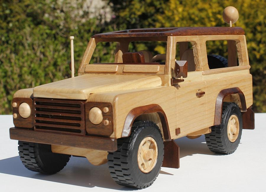 Landrover defender 90  - Woodworking Project by Dutchy