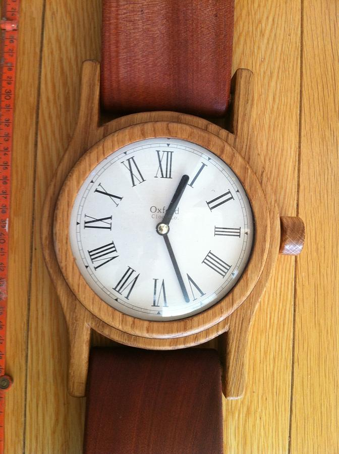 Big watch - Woodworking Project by Dutchy