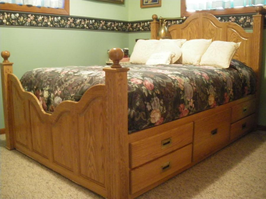 You made your bed; now go lie in it - Woodworking Project by Lightweightladylefty