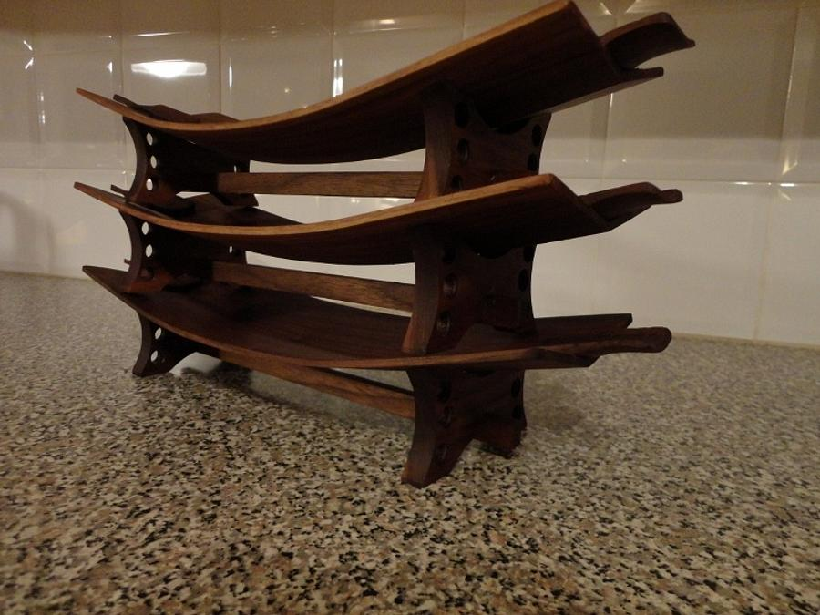 Steam Bent Trays - Woodworking Project by kiefer