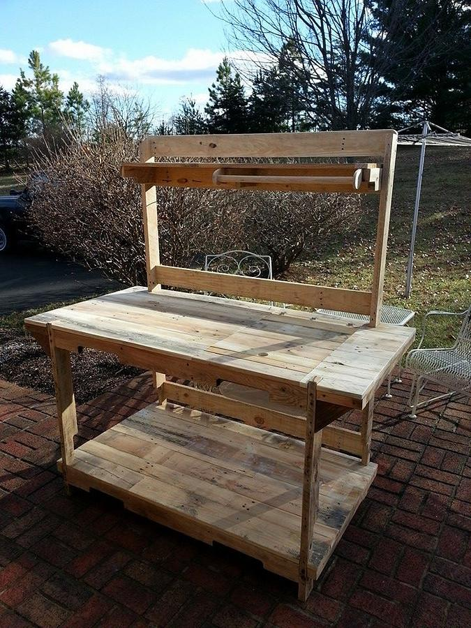 Planting Bench - Woodworking Project by Jon Kelley