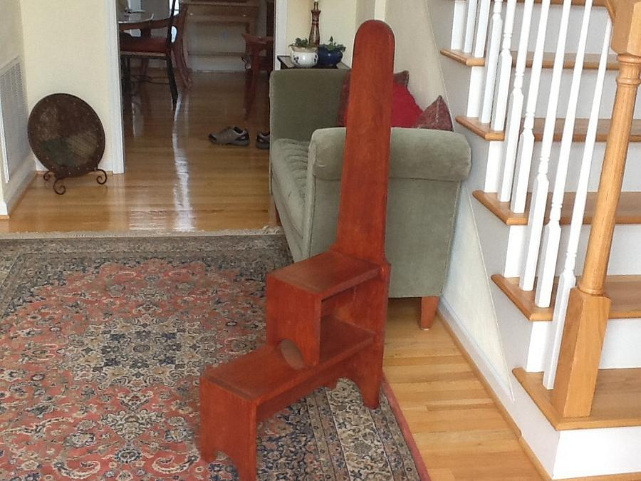 Step stool - Woodworking Project by Jack King