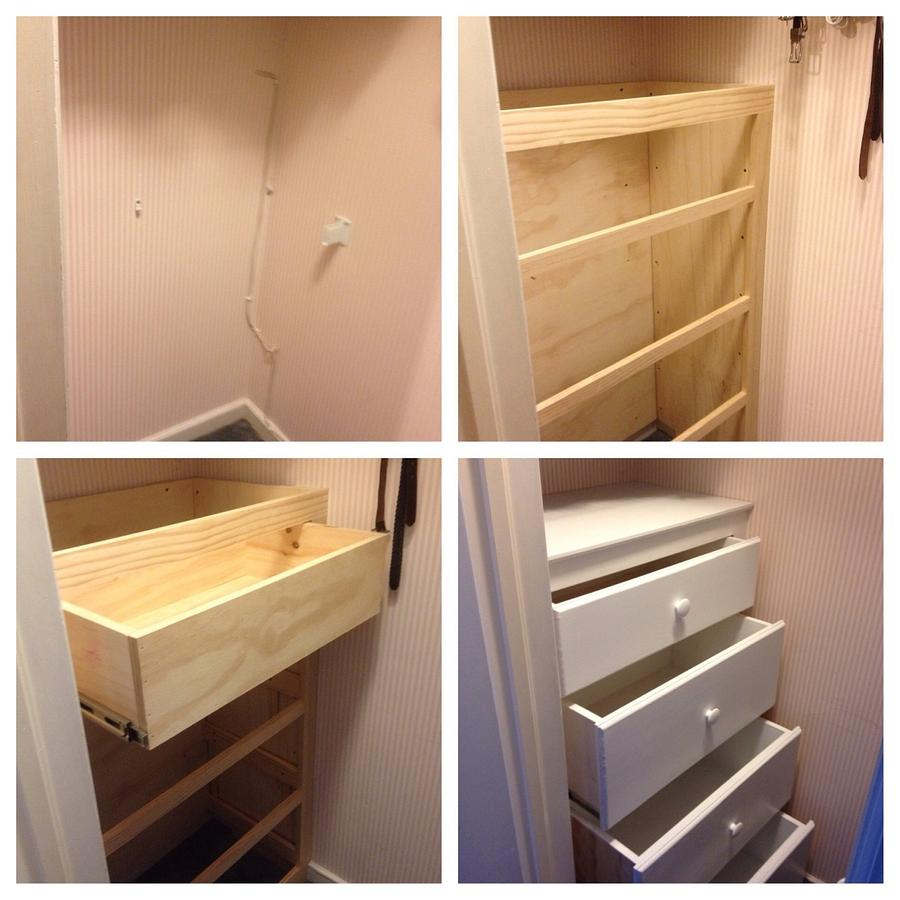 Built-in dresser - Woodworking Project by Dave Hebert/Hebert Home Solutions