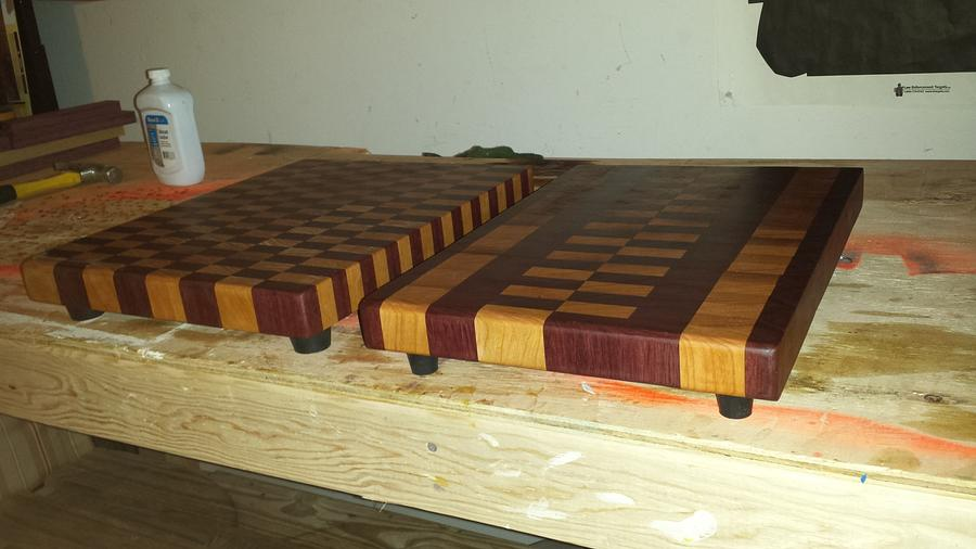 Christmas cutting boards  - Woodworking Project by BigTexTactical