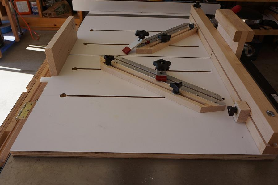 Super CrossCut sled - Woodworking Project by lanwater