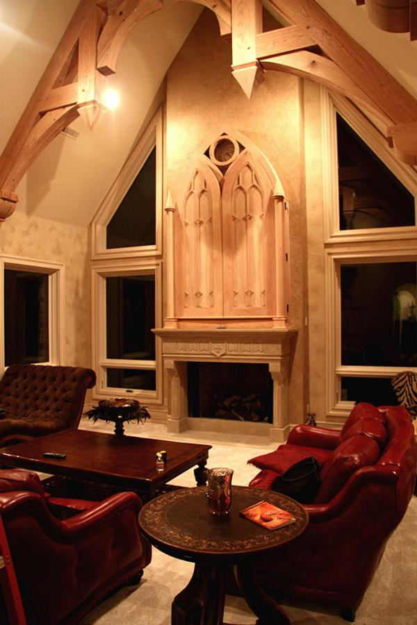 Oak living room - Woodworking Project by Clark Fine Furniture