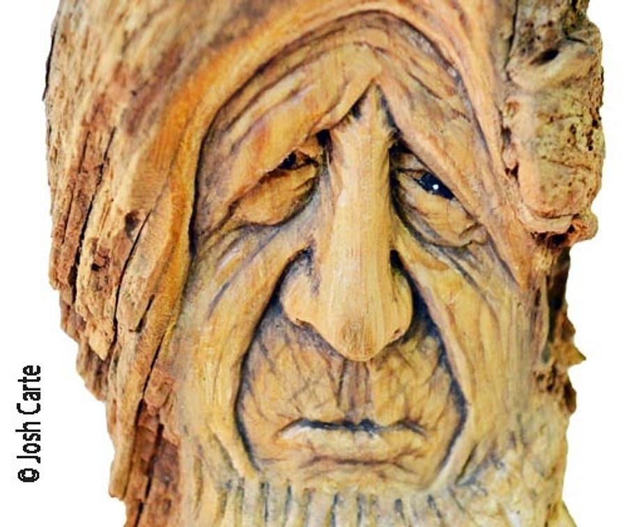 Pouting Pete Carving - Woodworking Project by JoshCarteArt
