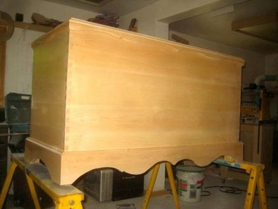 Bridal Chest - Woodworking Project by Craftsman on the Lake